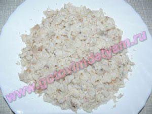 Пошаговый салат мимоза