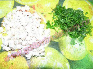 Готовим украшение в суп овощной