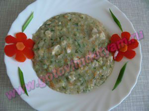 Суп овощной для ребенка после года