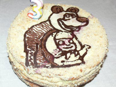 P1160371 Торт ребенку на день рождения