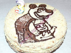 Украшение тортов для детей