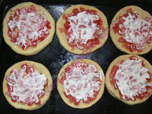 Тесто для домашней пиццы для детей