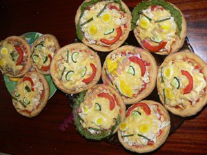 Мини пиццы для детей рецепт