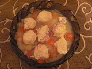P1100021 Суп с фрикадельками для детей