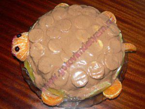 Быстрый детский торт своими руками