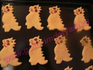 Печенье на елку для детей
