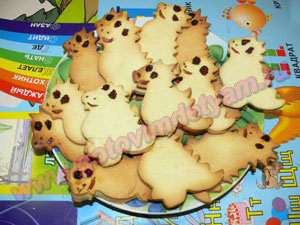 Печенье дракончики для детей