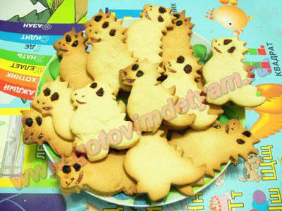 Печенье на Новый год для детей