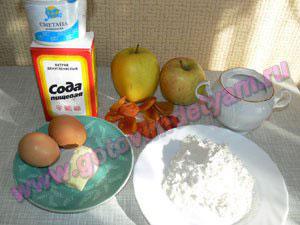Ингредиенты на кексы для детей