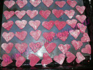 Печенье в виде сердечек детям