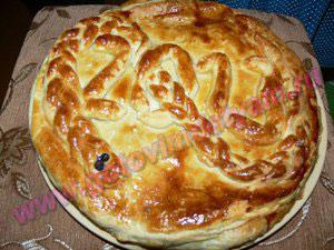 pirog3 Пирог с красной рыбой