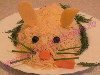 fruktoviy-salat-s-yogurtom Детские салаты и закуски