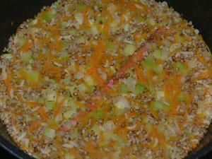 Рисовая каша с овощами для детей