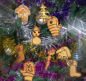 novogodnee-pechenie15 Новогоднее печенье