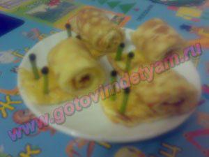 omlet-s-syrom10 Омлет с сыром