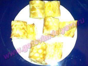 omlet-s-syrom9 Омлет с сыром