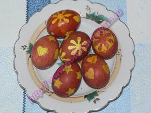 P1100482 Украшение пасхальных яиц