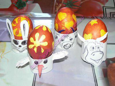 Украшение пасхальных яиц детям