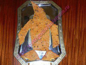 Морковный торт с пряностями детский