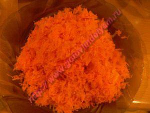 Готовим морковь в морковный торт рецепт