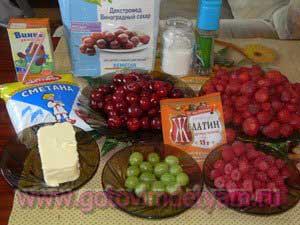 tort-s-fruktami0 Торт с фруктами