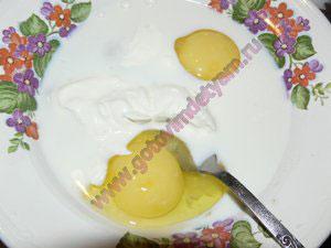 Яичная смесь в кабачковую запеканку детям
