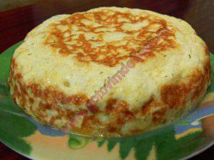 Запеканка из кабачков с сыром детям