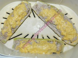 Кабачки фаршированные сыром детям